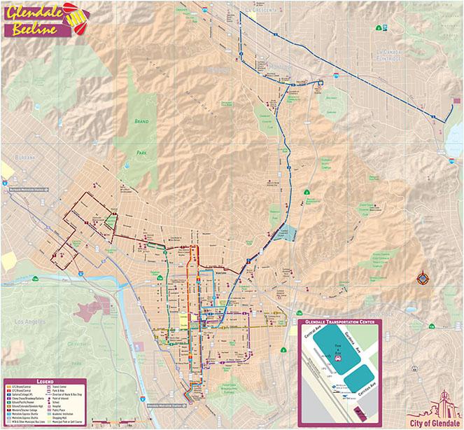MoniDesign City Transit Maps