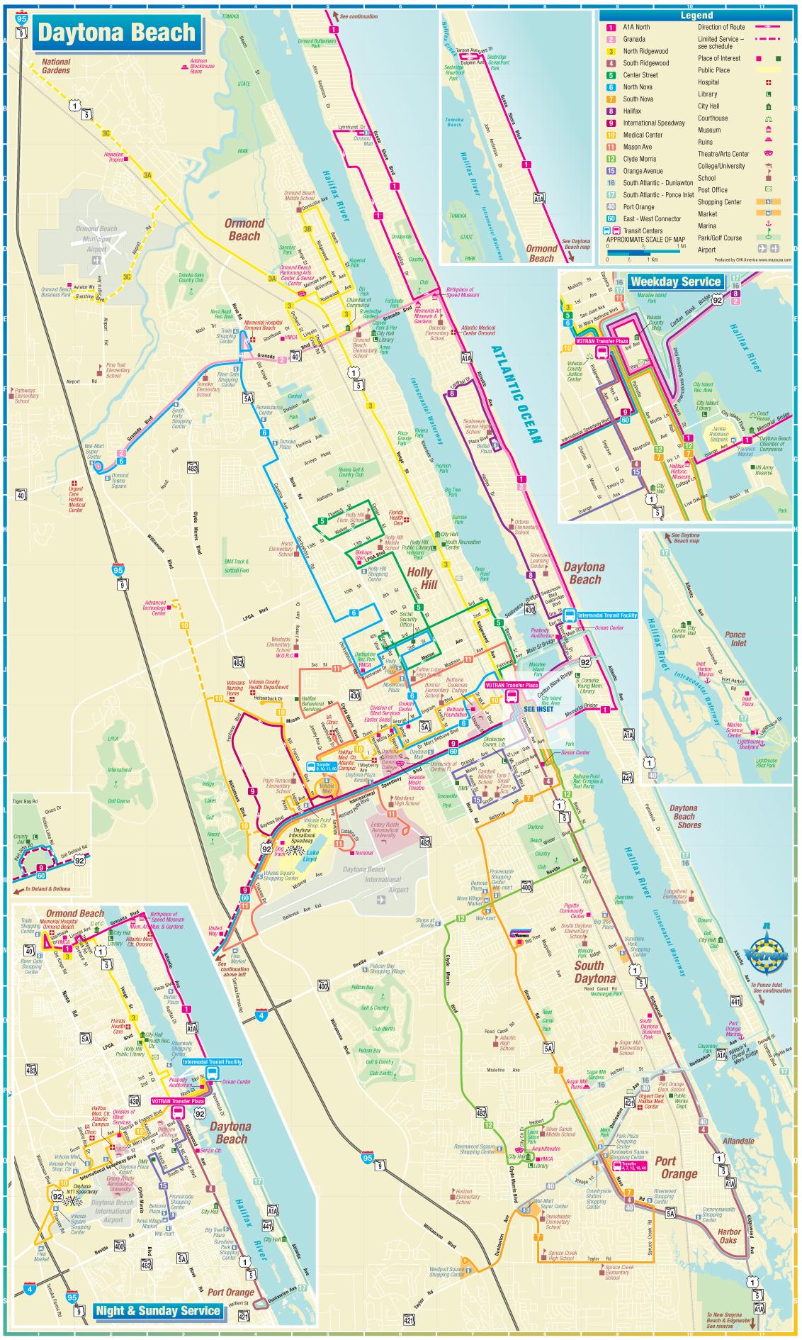 MoniDesign Transit Maps