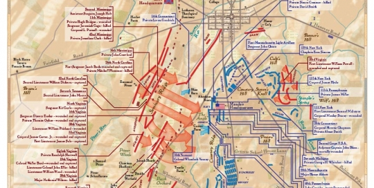 Illustrator Archives - M O N I D E S I G N on gettysburg pennsylvania on us map, pennsylvania regions map, gettysburg manufacturing map, downtown gettysburg pa map, norhteast and southeast map, gettysburg trail map, winery map, gettysburg tourism map,