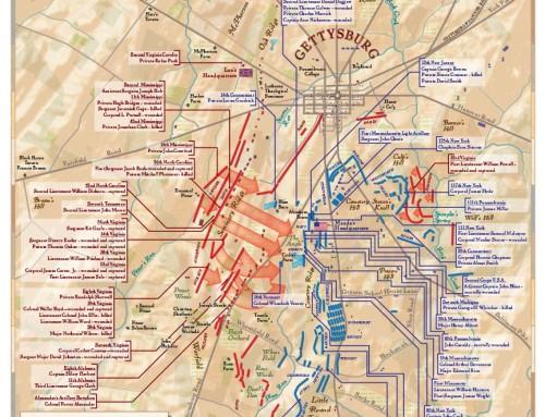 Gettysburg Battlefield maps